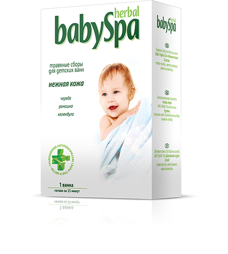 "Herbal BabySpa ""Soft skin"""
