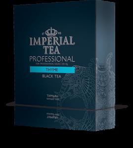 Черный чай тимьян (чабрец) 20 пакетиков по 4 г. 12 шт. гофрокоробе