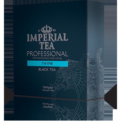 Чай «Тимьян» 20 пакетиков по 4 г. 6 шт. в гофрокоробе