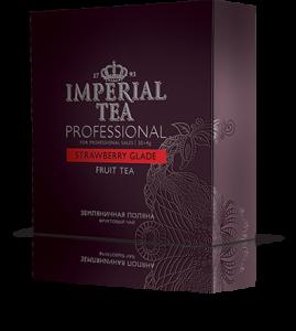Фруктовый чай «Земляничная поляна» 20 пакетиков по 4 г. 12 шт. гофрокоробе