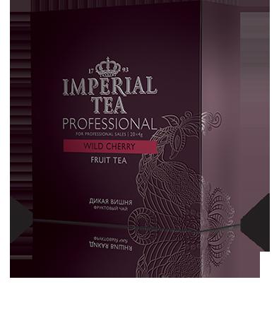 Фруктовый чай «Дикая вишня» 20 пакетиков по 4 г. 12 шт. гофрокоробе