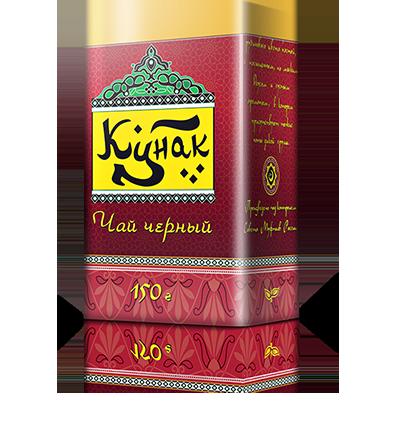Черный цейлонский чай «Кунак» в жестяной банке, 150 г., 12 шт.