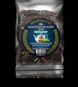Черный байховый крупнолистовой чай бергамот «Imperial Tea Collection», 100 г., 42 шт.