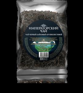 Черный байховый крупнолистовой чай «Императорский чай» 100 г. 40 шт. в коробе