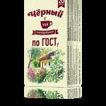 Черный чай без ярлыка по ГОСТу, 20 пакетиков, 24 шт.