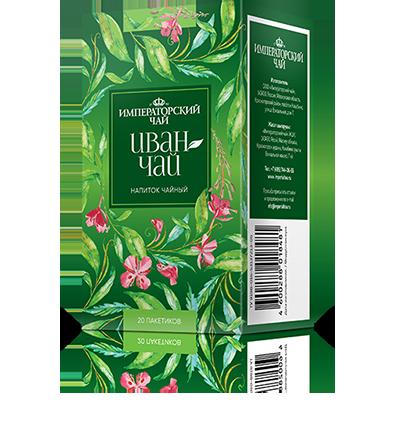 Иван-чай 20 пакетиков по 1,2 г. 20 шт. в гофрокоробе