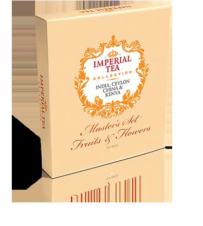 Подарочный набор чая Fruits & Flowers 90 пакетиков 20 шт. в гофрокоробе