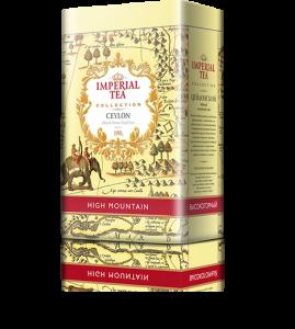 Черный цейлонский чай высокогорный «Imperial Tea Collection», 150 г., 12 шт.