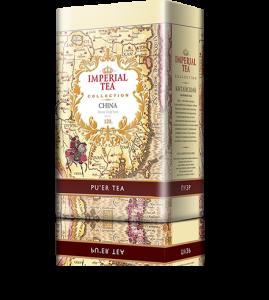 Черный китайский чай пуэр «Imperial Tea Collection», 120 г., 12 шт.