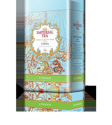 Зеленый чай юньнань 150 гр. 12 шт. в гофрокоробе
