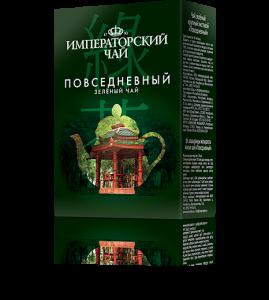 Зеленый чай «Повседневный» 80 г. 54 шт. в гофрокоробе