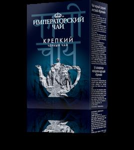 Черный крепкий мелколистовой чай «Императорский чай» 80 г. 54 шт. в гофрокоробе