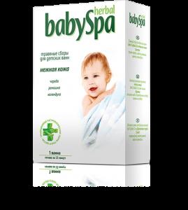 Травы для ванн «Нежная кожа» 1 пакетик 15 г. 54 шт. в гофрокоробе