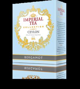 Чай «Бергамот», 100 г., 56 шт. в гофрокоробе