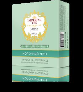 Чай молочный улун 100 пакетиков по 1,7 г. 10 шт. в гофрокоробе
