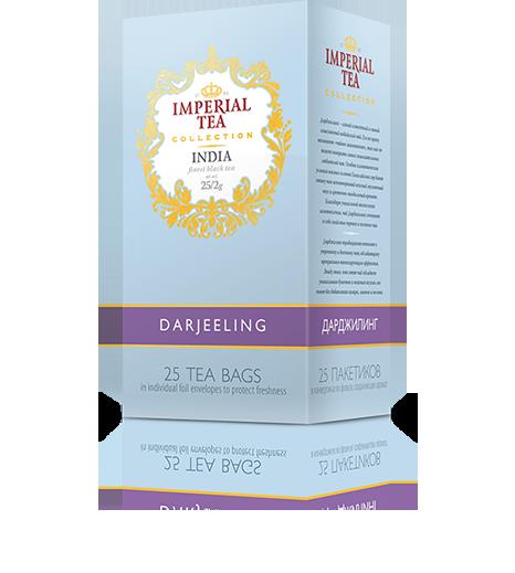 Чай «Дарджилинг», 25 пакетиков, 20 шт. в гофрокоробе
