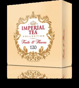 Ассорти фруктового чая 120 пакетиков 8 шт. в гофрокоробе