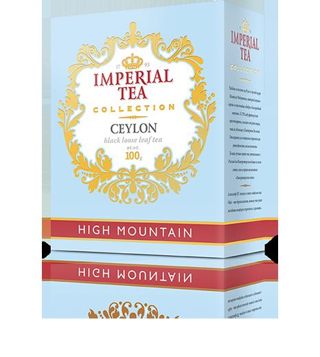 Черный цейлонский чай высокогорный «Imperial Tea Collection», 100 г., 56 пачек