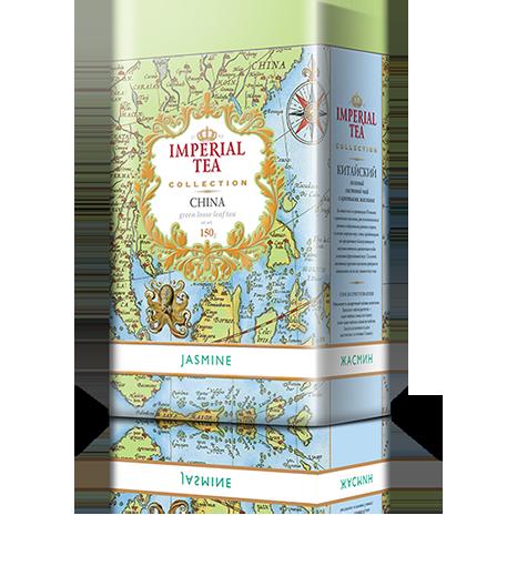 Чай с жасмином 150 гр. 12 шт. в гофрокоробе