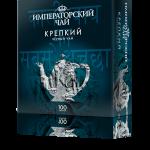 Черный крепкий чай «Императорский чай», 100 пакетиков, 18 шт.