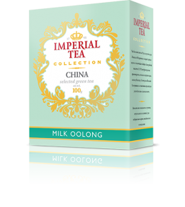 Чай молочный улун 100 г. 56 пачек в гофрокоробе
