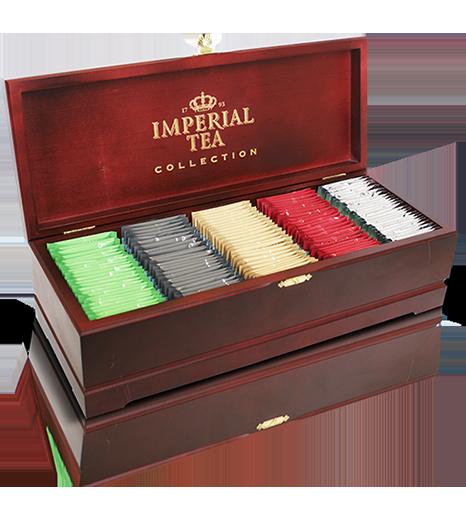 Коллекционный чай 125 пакетиков 2 шт. в гофрокоробе
