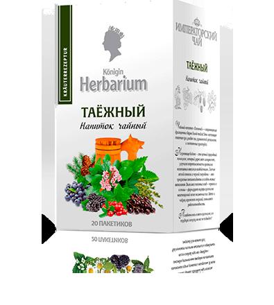 Чай «Таёжный» 20 пакетиков по 1,5 г. 20 шт. в гофрокоробе
