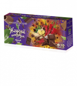 Чай «Жгучий шокобум» 20 пакетиков по 1,5 г. 32 шт. в гофрокоробе