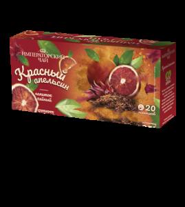 Чай «Красный апельсин» 20 пакетиков по 1,5 г. 32 шт. в гофрокоробе