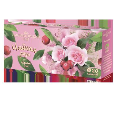 Чай «Чайная роза» 20 пакетиков по 1,5 г. 32 шт. в гофрокоробе