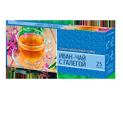 «Иван чай с галегой» 25 пакетиков по 1,5 г. 32 шт. в гофрокоробе