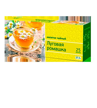 «Луговая ромашка» 25 пакетиков по 1,5 г. 32 шт. в гофрокоробе